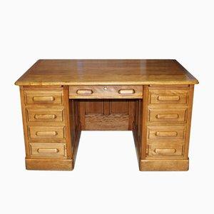 Vintage Schreibtisch aus Mahagoni