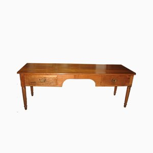 Antique Cherry Wood Desk