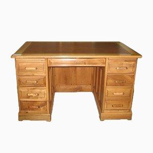 Vintage Desk with Cabinets
