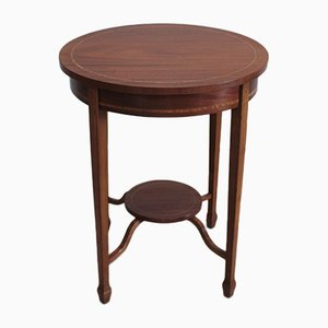 Vintage Rosewood and Mahogany Side Table, 1930s