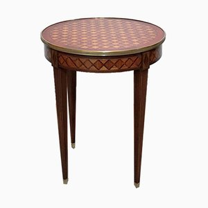 Antique Louis XVI Style Mahogany and Rosewood Side Table