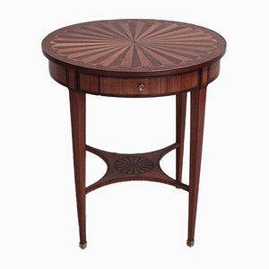 Vintage Rosewood Side Table, 1920s