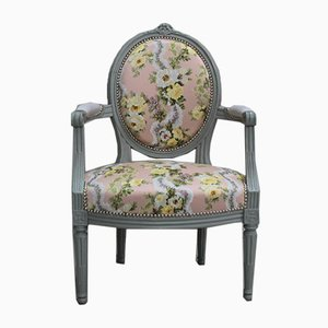 Antique Louis XVI Style Armchair, Set of 2