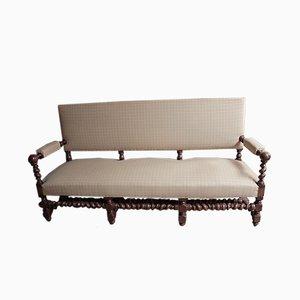 Vintage Oak Sofa