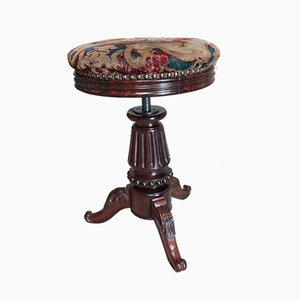 Antique Rosewood Stool
