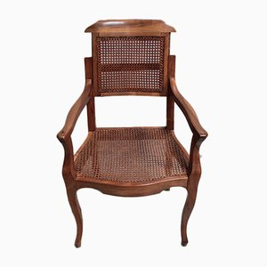 Vintage Walnut Armchair