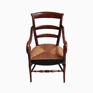 Antique Birch Armchair