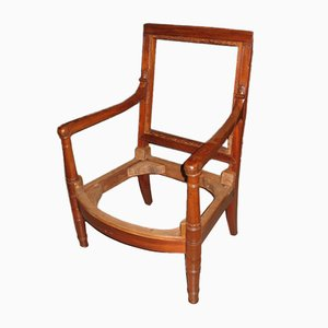 Antique Mahogany Armchair
