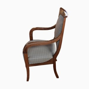 Antique Empire Walnut Armchair