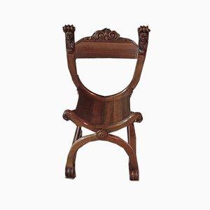 19th Century Walnut Armchair