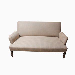 Antique Napoleon III Beech Sofa