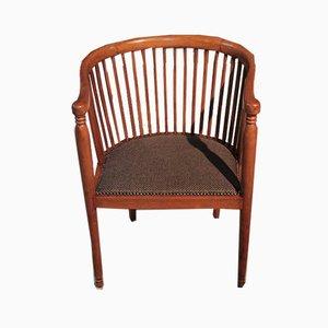 Vintage Art Deco Beech Armchair