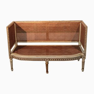 Antique Cane Sofa