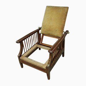 Vintage Mahogany and Rosewood Morris Armchair