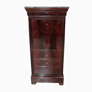 19th Century Louis Philippe Mahogany Secretaire