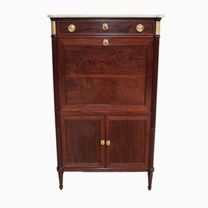 18th Century Louis XVI Mahogany Secretaire