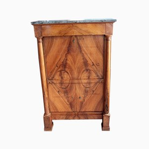19th Century Empire Walnut Secretaire
