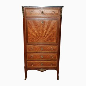Vintage Mahogany and Rosewood Secretaire
