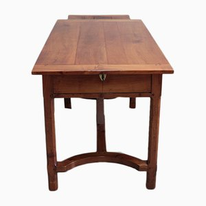 19th Century Cherrywood Farm Table