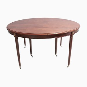 Antique Oval Mahogany Dining Table