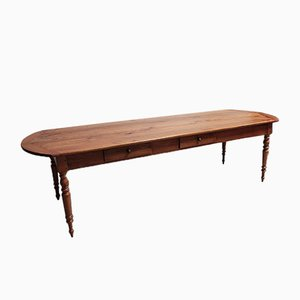 19th Century Cherrywood Dining Table