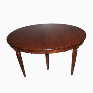 Vintage Louis XVI Style Mahogany Dining Table