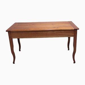 Tavolo da gioco antico in legno di ciliegio