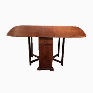 Vintage Oak Folding Table