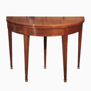 Antique Directoire Mahogany Dining Table