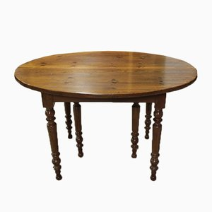 19th Century Fir Dining Table