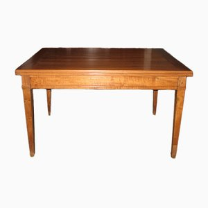 Antique Walnut Extendable Dining Table