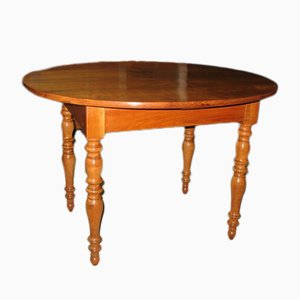 Small Antique Louis Philippe Cherry Wood Table