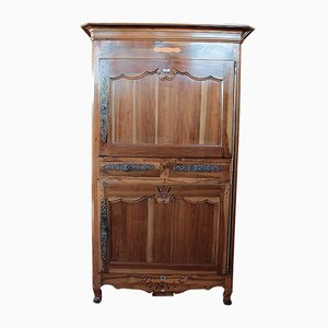 Antique Louis XV Style Walnut Cabinet