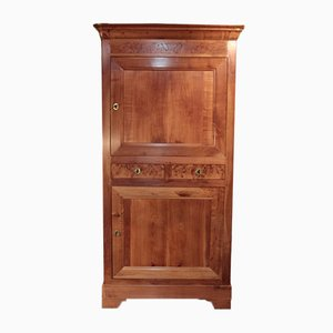 19th Century Louis Philippe Cherry Wood Cabinet