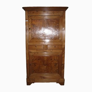 19th Century Louis Philippe Ash Cabinet