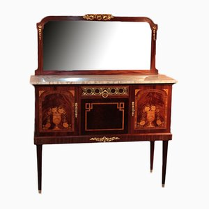 Vintage Rosewood and Mahogany Dressing Table