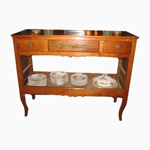 Antique Cherry Wood Sideboard