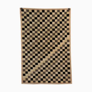 Short-haired Checkered Rug, 1980s
