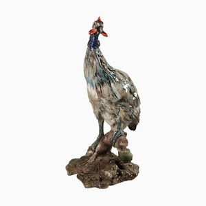 Antique Pheasant Sculpture by Guido Cacciapuoti