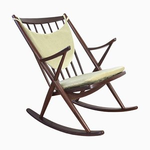 Mid-Century 182 Rocking Chair by Frank Reenskaug for Bramin