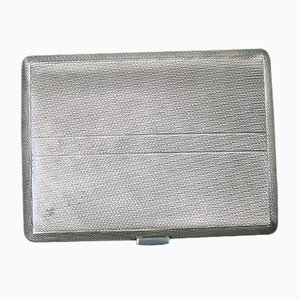 Silver Cigarette Case from JG Gloster, 1963