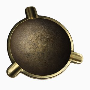 Mid-Century Modern German Brass Ashtray, 1970s