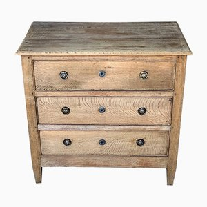 Antique Louis XVI Style Bleached Oak Dresser