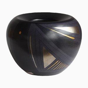 German Ceramic Vase from KMK Kupfermuhle, 1992