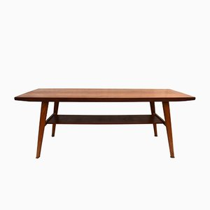 Mid-Century Norwegian Teak Coffee Table, 1960s