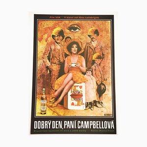 Buona Sera, Mrs. Campbell Movie Poster by Václav Zeman, 1971