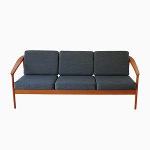 Sofa mit Gestell aus Teak von Folke Ohlsson für Bodafors, 1963