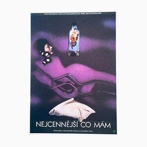 Affiche de Film No Time for Breakfast par Olga Poláčková-Vyleťalová, 1978