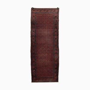 Handgefertigter Teppich aus Baumwolle & Wolle, 1950er