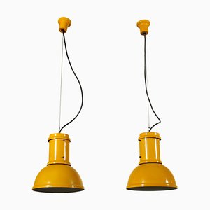 Candle Ceiling Lamps, 1960s, Set of 2